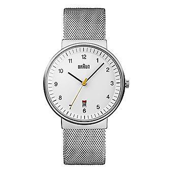 Braun relógio unisex ref. BN0032WHSLMHG