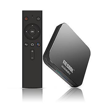 Mecool km9 pro tv box - comando vocale, corteccia a53, quad core, ram 4g, 32g rom, nero, noi spina