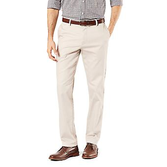 Dockers Men-apos;s Slim Fit Signature Khaki Lux Cotton Stretch, Cloud, Taille 34W x 32L