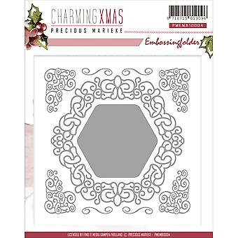 Find It Trading Precious Marieke Embossing Folder-Charming Christmas EMB10004