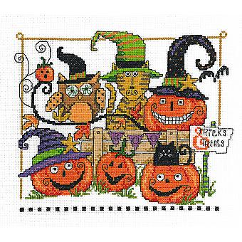 Boo Friends Counted Cross Stitch Kit-9