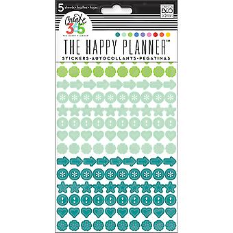 Create 365 Planner Stickers 5 Sheets/Pkg-Colorful Dots PPS5-68