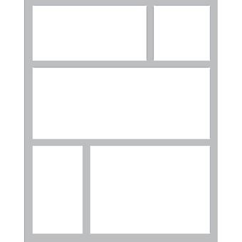Queen & Co Foam Front Card Kit-Squares QFF-230