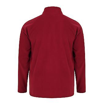 BadRhino Red Zip Neck Micro Fleece
