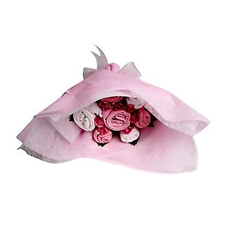 Bouquet de bienvenue - sucre rose