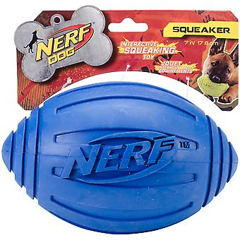 Nerf Ridged Squeak Football 7