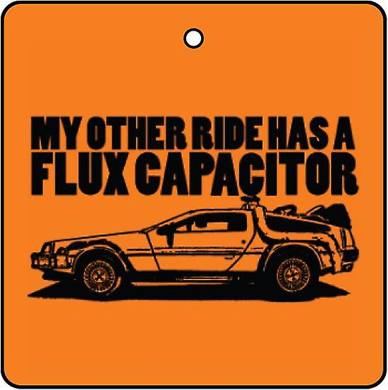 Min annan ritt Has A Flux Capacitor Car Air Freshener