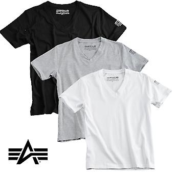 Alpha Industries T-Shirt Bodywear V-Neck