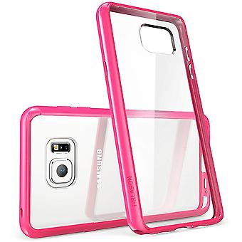 i-Blason Galaxy Note 5 Halo Series Clear Case - Pink