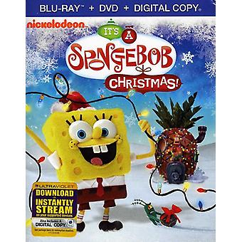 Svampbob Fyrkant - det är en Spongebob Squarepants jul! [BLU-RAY] USA import