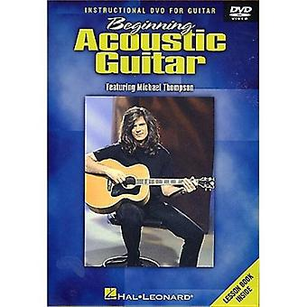 Beginning Acoustic Guitar [DVD] USA import