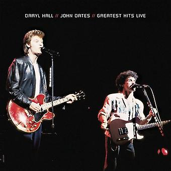 Hall & Oates - største Hits Live [CD] USA import