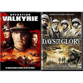 Operation Valkyrie / Days of Glory [DVD] USA import