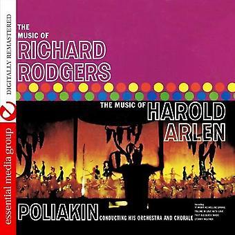 Poliakin orkester & Chorale - musik av Richard Rodgers/the musik av Harold Arlen [CD] USA import