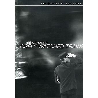 Nauw importeren keek treinen [DVD] USA
