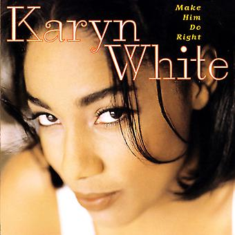 Karyn White - Make Him Do Right [CD] USA import