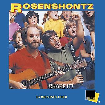 Rosenshontz - dele det! [CD] USA import