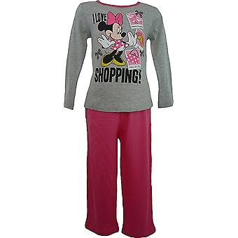 Las niñas Disney Minnie Mouse manga larga pijama HM2036
