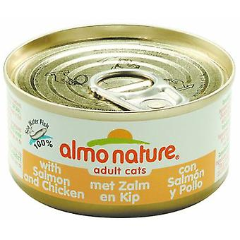 Almo nature Salmon (Cats , Cat Food , Wet Food)
