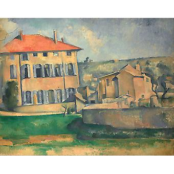 Paul Cezanne - House in Aix Poster Print Giclee