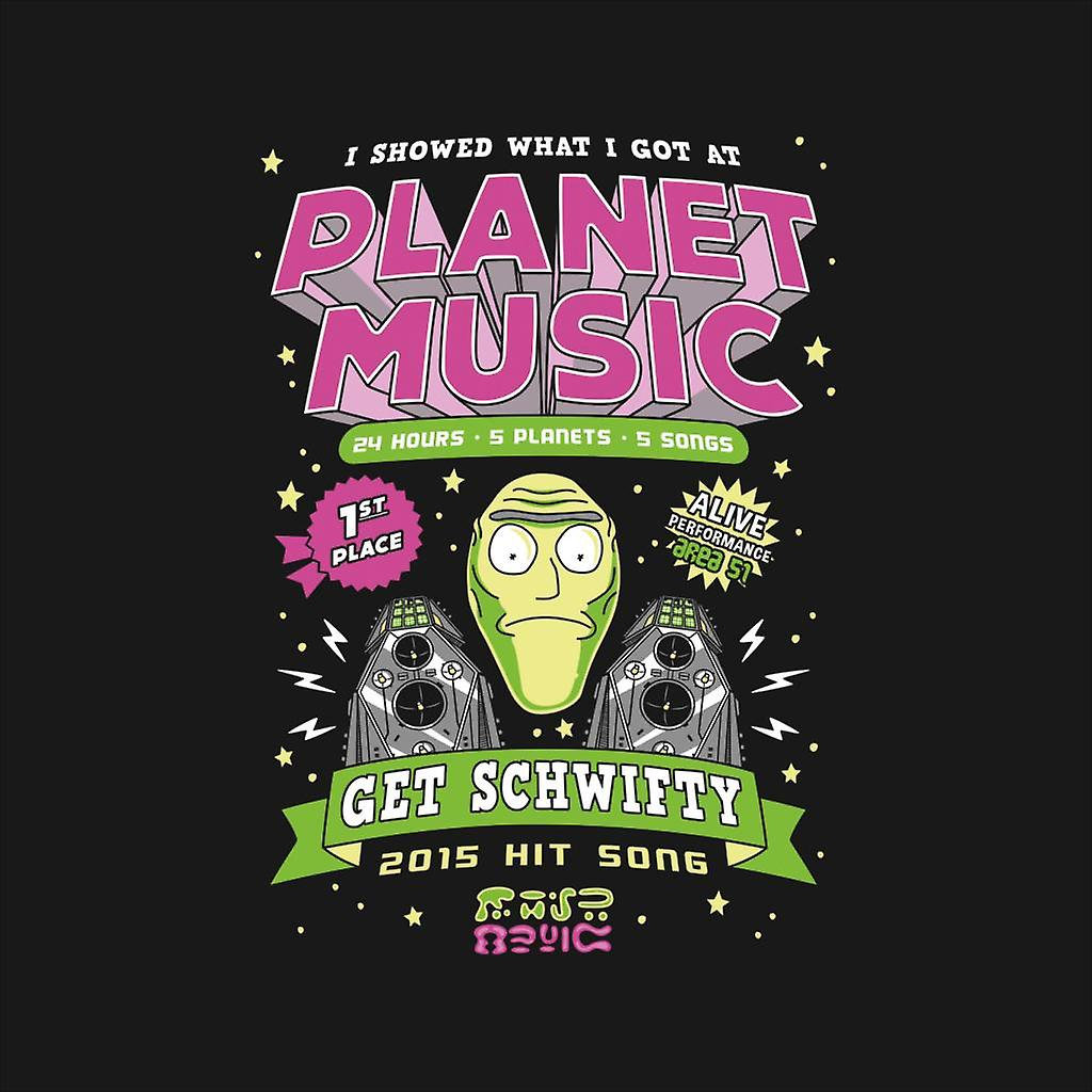 I Showed What I Got At Planet Music Get Schwifty Rick And Morty Men's Vest