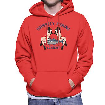 Superfly Fishing Academy Herren Sweatshirt mit Kapuze