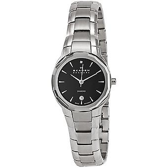 Skagen Ladies' Black Label Watch 822SSXB
