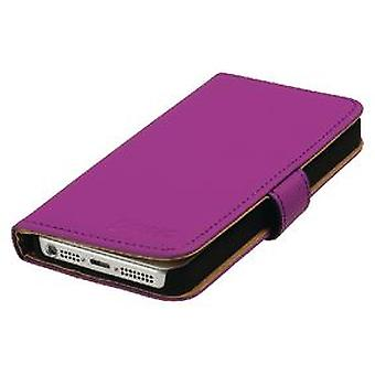 König Style Book Case Wallet For Galaxy S5 In Pink