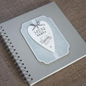 Hen Party - Guest Book - Album / Keepsake - Let the good times roll