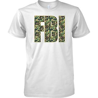 Federal Bureau of Investigation - polizia FBI - Camo effetto--bambini T Shirt