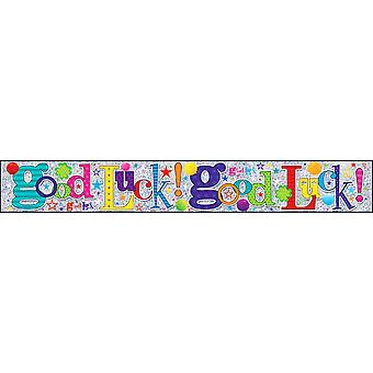 Simon Elvin Good Luck Foil Party Banner