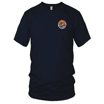 United States Coast Guard USCG - Coast Guard Air Station Los Angeles gestickt Patch - Kinder T Shirt