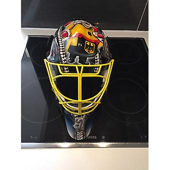Rey Pro Goaliemask with their Airbrushdesign