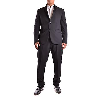 Guess by Marciano men's MCBI144004O black polyester suits