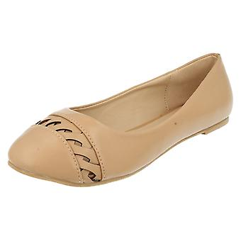 Ladies Anne Michelle Slip On Flat Shoes