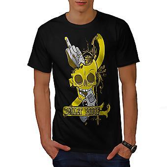 Bullet Proof tête BlackT-chemise homme   Wellcoda