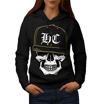 Skull Swag Gamer Women BlackHoodie | Wellcoda