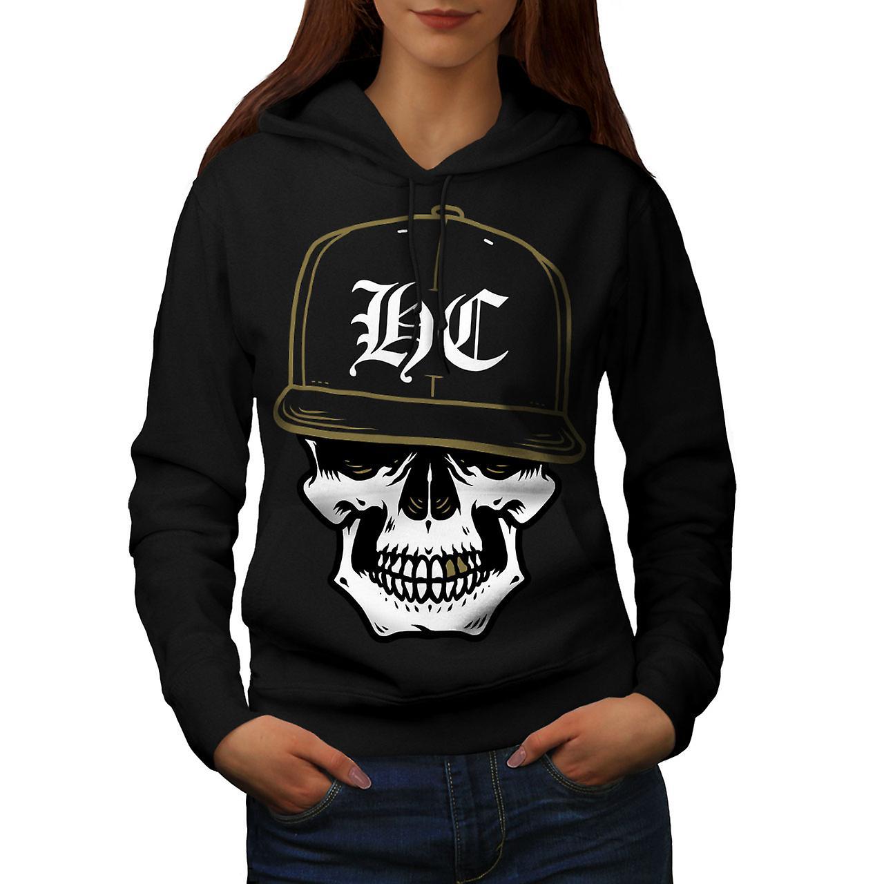 Skull Swag Gamer Women BlackHoodie   Wellcoda