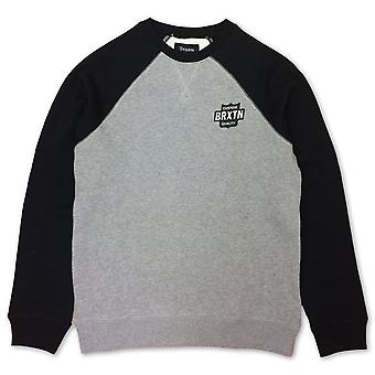 Brixton Garth Sweatshirt Heather Grey