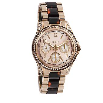 Ånd damer dame Rose guld Tone Wrist Watch ASPL84X