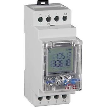 DIN rail mount timer Operating voltage: 230 V AC ENTES MCB-50 2 change-