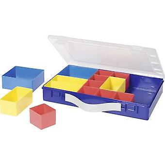 Assortment case (L x W x H) 332 x 232 x 55 mm Alutec No. of compartments: 14 variable compartments