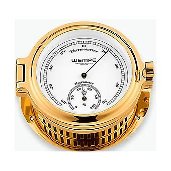 Wempe chronometer works Cup portholes Thermo - / hygrometer CW140007