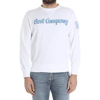 Best company men's 6920000103 white cotton Sweatshirt