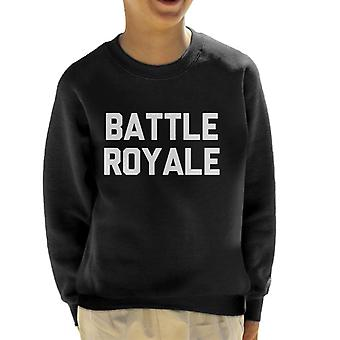 Fortnite Battle Royale Kind Sweatshirt