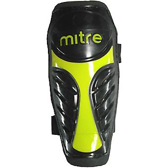 Mirak Mens Sentinel Slip Vostok Shin Guard With Support Strap Yellow