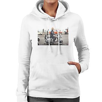 Sting On A Moped In Quadrophenia Women's Hooded Sweatshirt