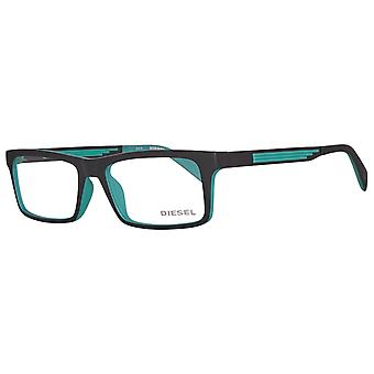 Diesel men's black glasses