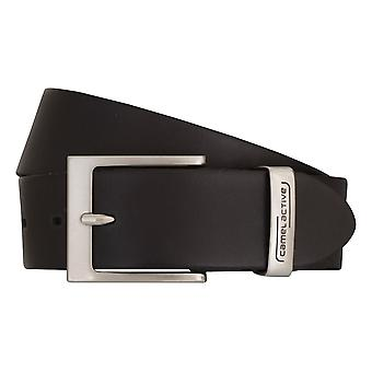 Camel active belts men's belts leather belt black 6812