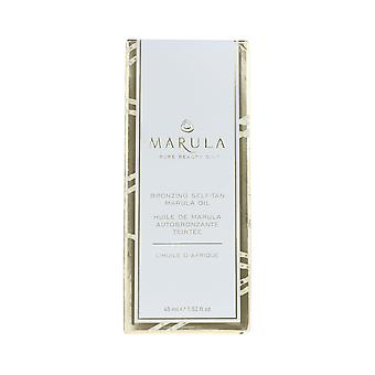 Marula Bronzing Self-Tan Marula Oil 1.52oz/45ml New In Box